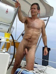 Older Men nude on the public