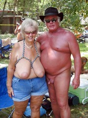 Old nudists and swingers