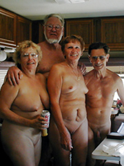 Nude family, moms and daddies naked in..