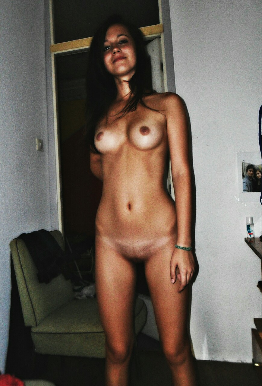 Nude vaginas with something in them