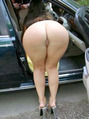Big mature asses naked close-up photos