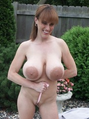 Lovely Big Areolas and mature ladies